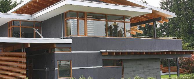 Exterior Vancouver Tadelakt Plaster project complete!