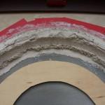 plaster archway