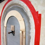 lime plaster running mold